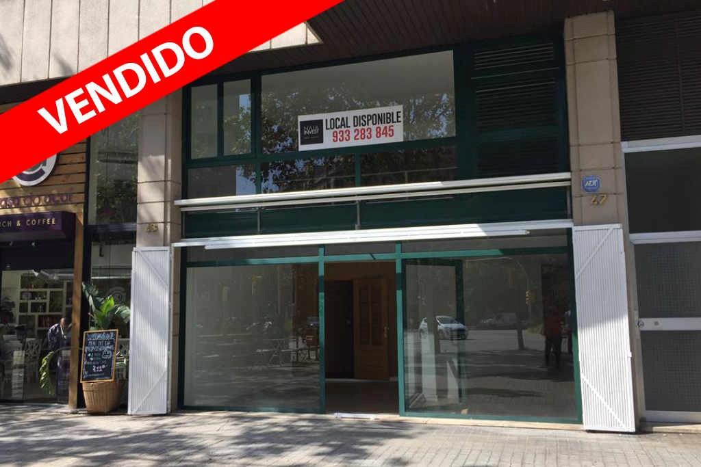 Local en venta en rentabilidad en Avda de Roma en Barcelona.